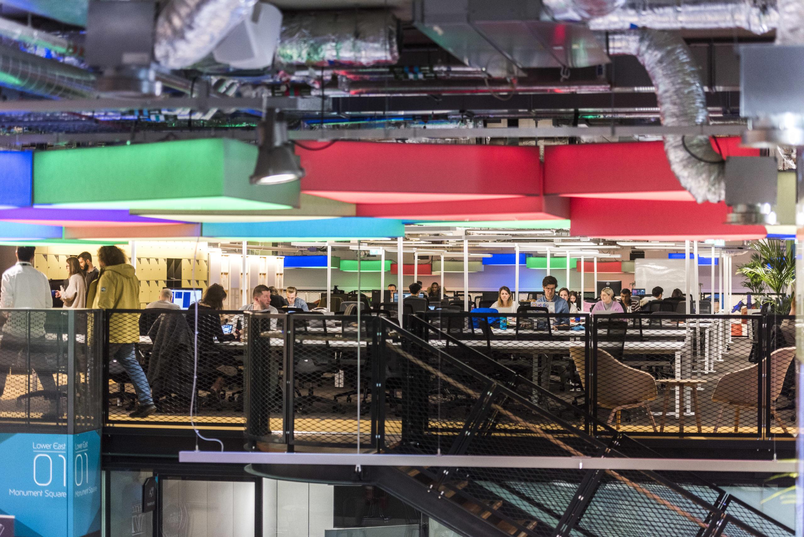 The Plexal workspace in east Londo